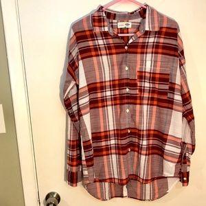 Old navy boyfriend button down shirt oversized